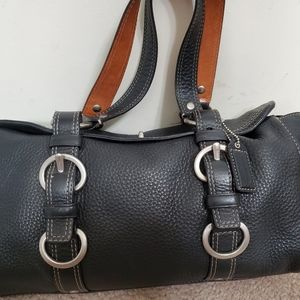 Coach Chelsea Pebble Leather with turnlock